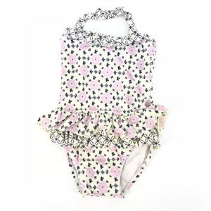 🛍 Janie and Jack purple floral swimsuit